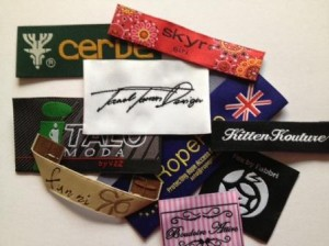 High Definition Damask Woven Labels