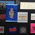 Metallic Woven Clothing Labels