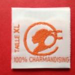 Woven Taffeta Size Labels