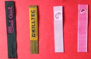 Woven Zipper Pulls Flat
