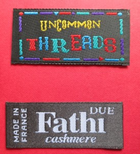 clothing woven labels