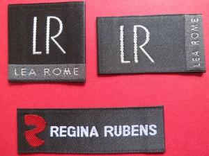 Designer Satin woven labels
