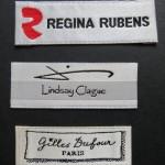 Satin Clothes Labels