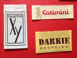 taffeta woven labels