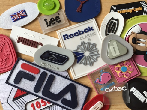 Rubber Clothing Labels. PVC labels and Silicone Labels