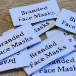 Labels for face masks
